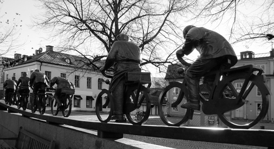 Living monument - Bicycle movement