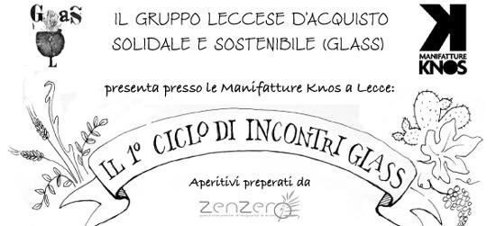 PRIMO CICLO DI INCONTRI GLASS