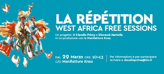 La Répétition - West Africa free sessions