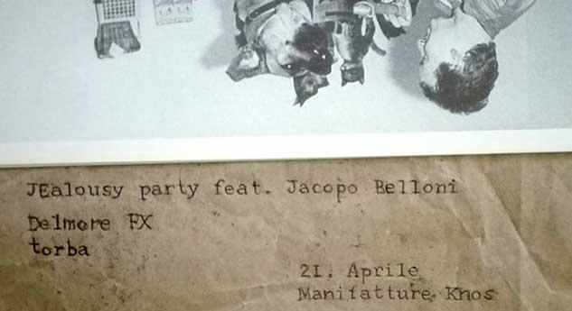JEALOUSY PARTY (feat. Jacopo Belloni) // DelmoreFX // torba