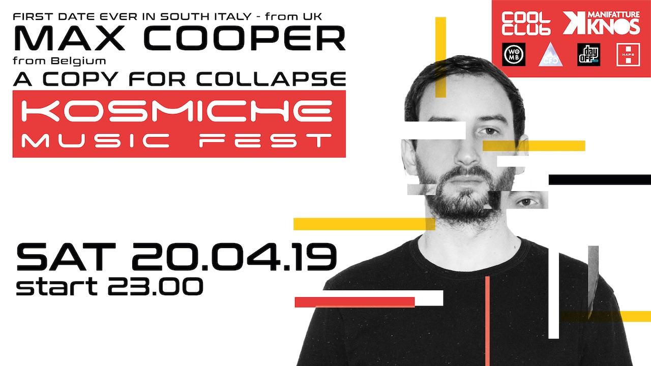 Max Cooper - Kosmiche Music Fest